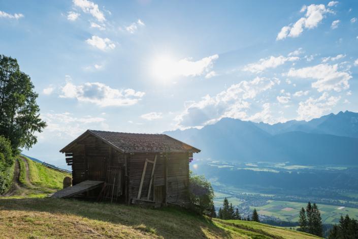 Gasthof Schmalzerhof Sommer im Karwendel